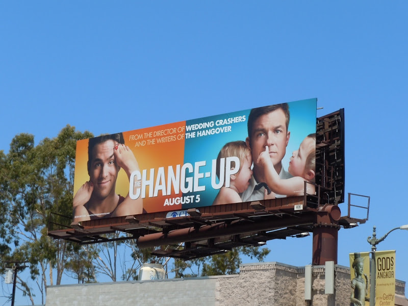 The Change-up movie billboard