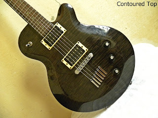 Yamaha AES620 Charcoal Gray (CG) - contoured flamed maple top