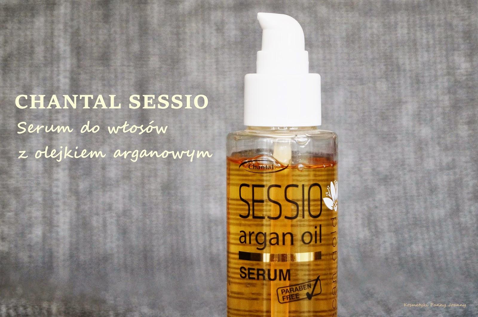 CHANTAL SESSIO Serum do włosów z olejkiem arganowym
