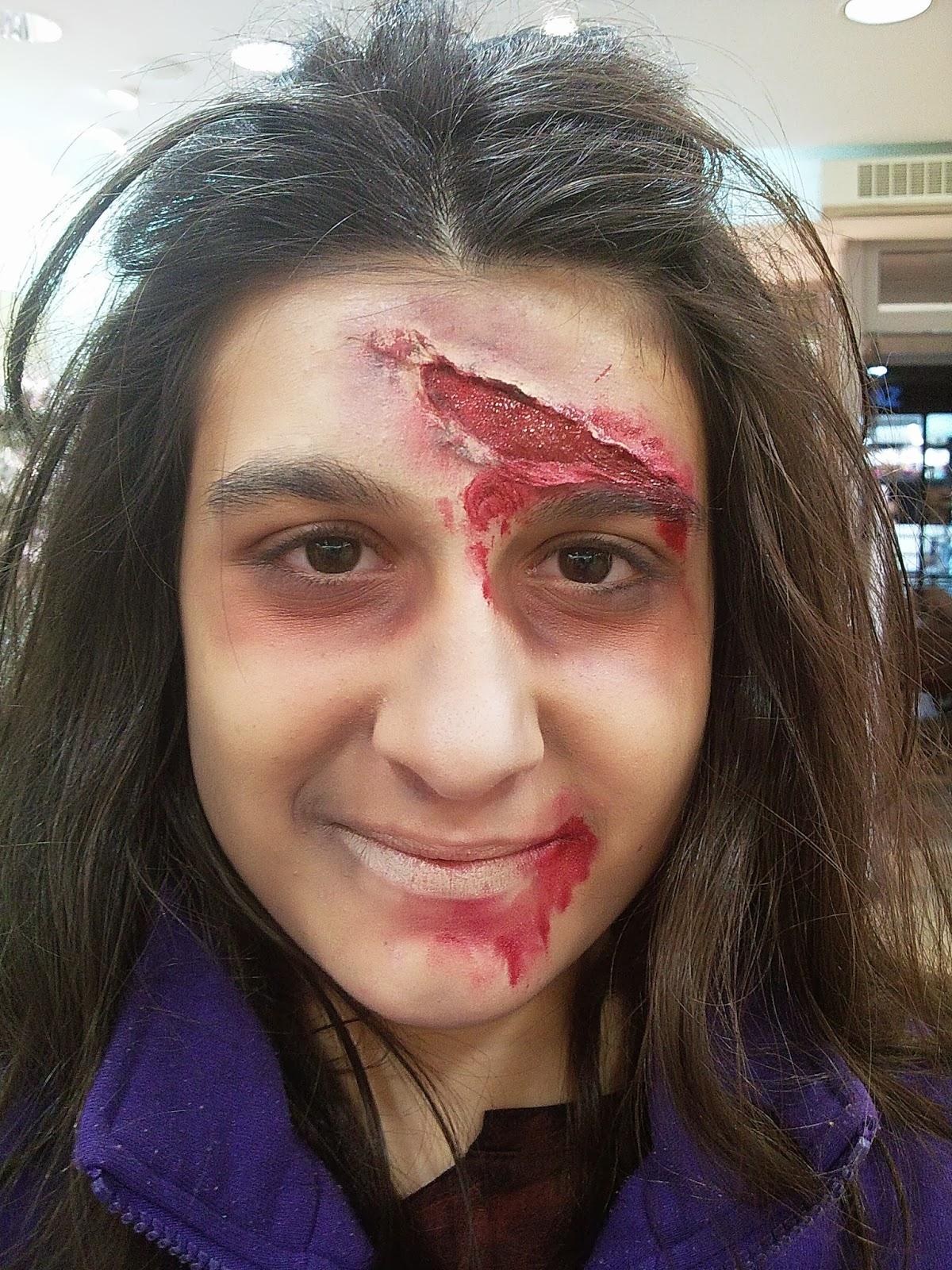 Mamimakeup maquillaje de zombie f cil con productos caseros - Como maquillarse de zombie ...