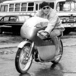 Steve McQueen  celeb on motorcycles