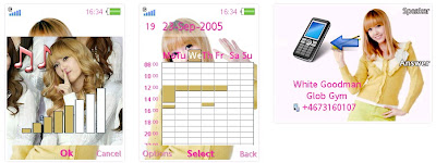 Jessica@少女時代SonyEricsson手機主題for Elm/Hazel/Yari/W20﹝240x320﹞