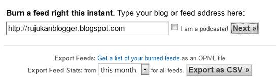 Cara Menggunakan Feedburner Untuk Tingkatkan Trafik Blog