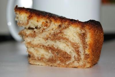 Zebra Moka Cake