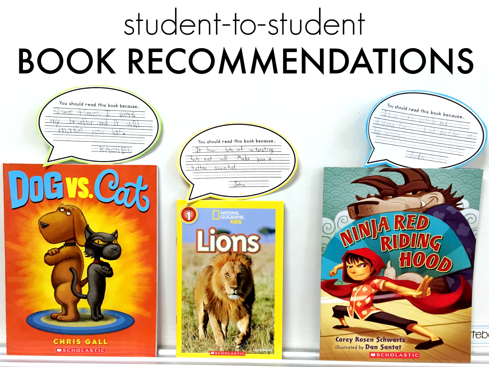 Getting Students To Suggest Books To Other Students Immediately Validates  The Recommendation Today I Wanted To Share One Way I Have Students Share  Their