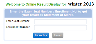 MSBTE winter 2013 result
