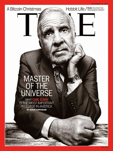 Icahn Time cover