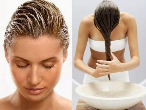 Pflegende Haarmaske für selber mischen