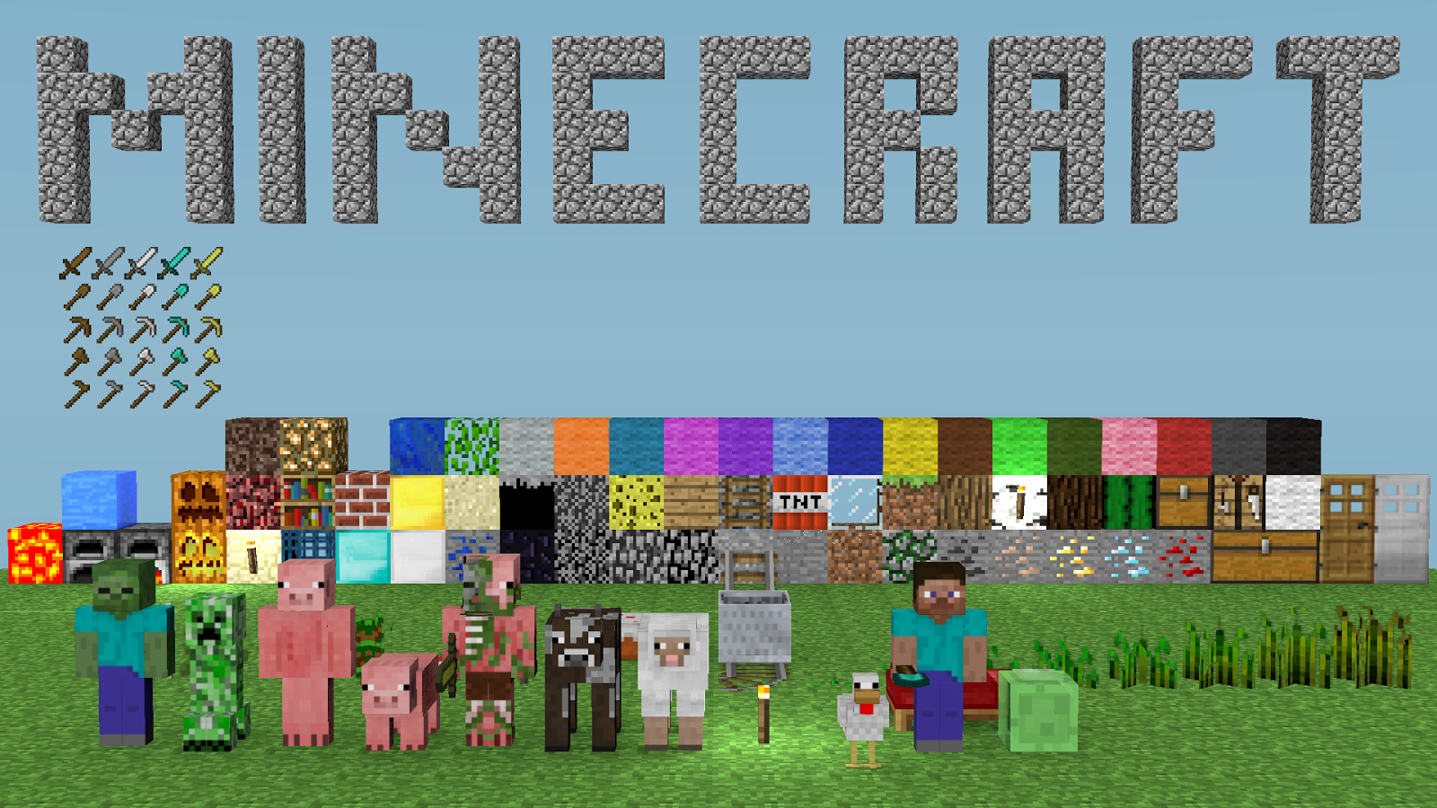 Minecraft unblocked for The game mind craft