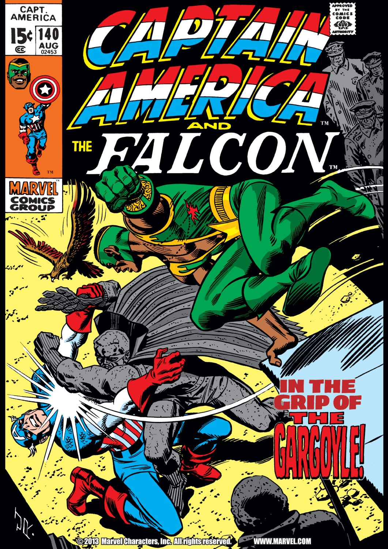 Captain America (1968) Issue #140 #54 - English 1
