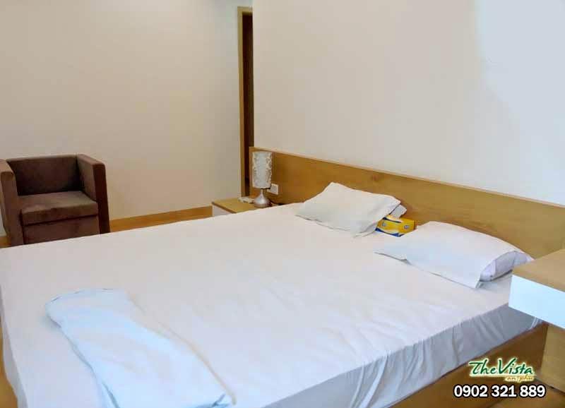 Phòng ngủ chinh căn hộ The Vista