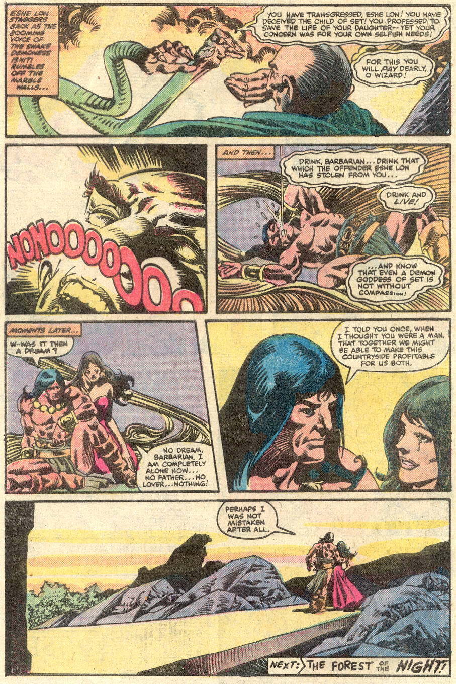 Conan the Barbarian (1970) Issue #134 #146 - English 23