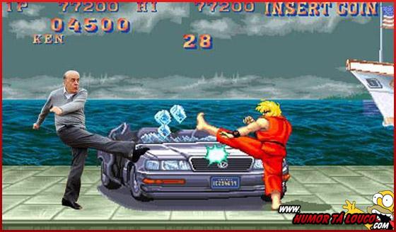 Após pênalti e sapato perdido, Serra vira meme na internet - Street Fighter