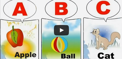 learn online english speaking a for apple b for ball abc alphabet