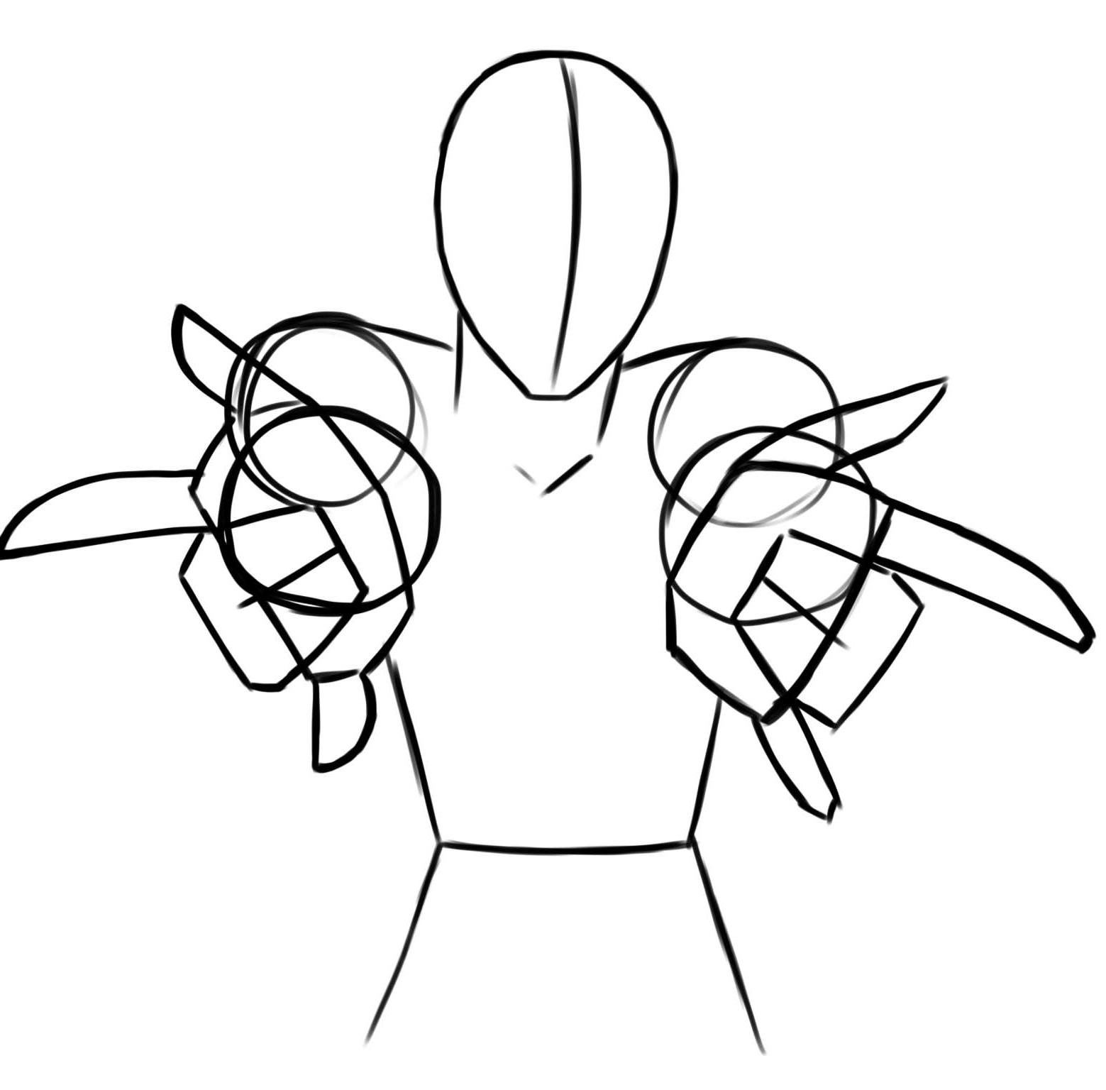Esquemas para dibujar paso a paso a spiderman devian for Dormitorio para dibujar facil
