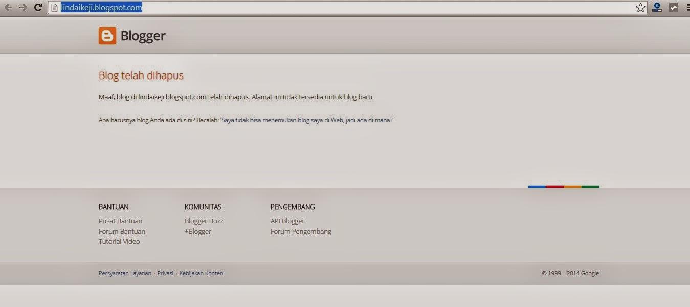 Heboh!!! Linda Ikeji Blog di Hapus Oleh Google