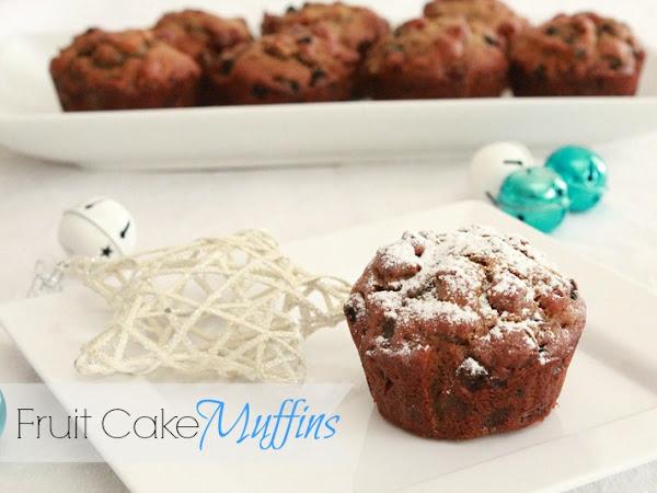 Fruit Cake Muffins