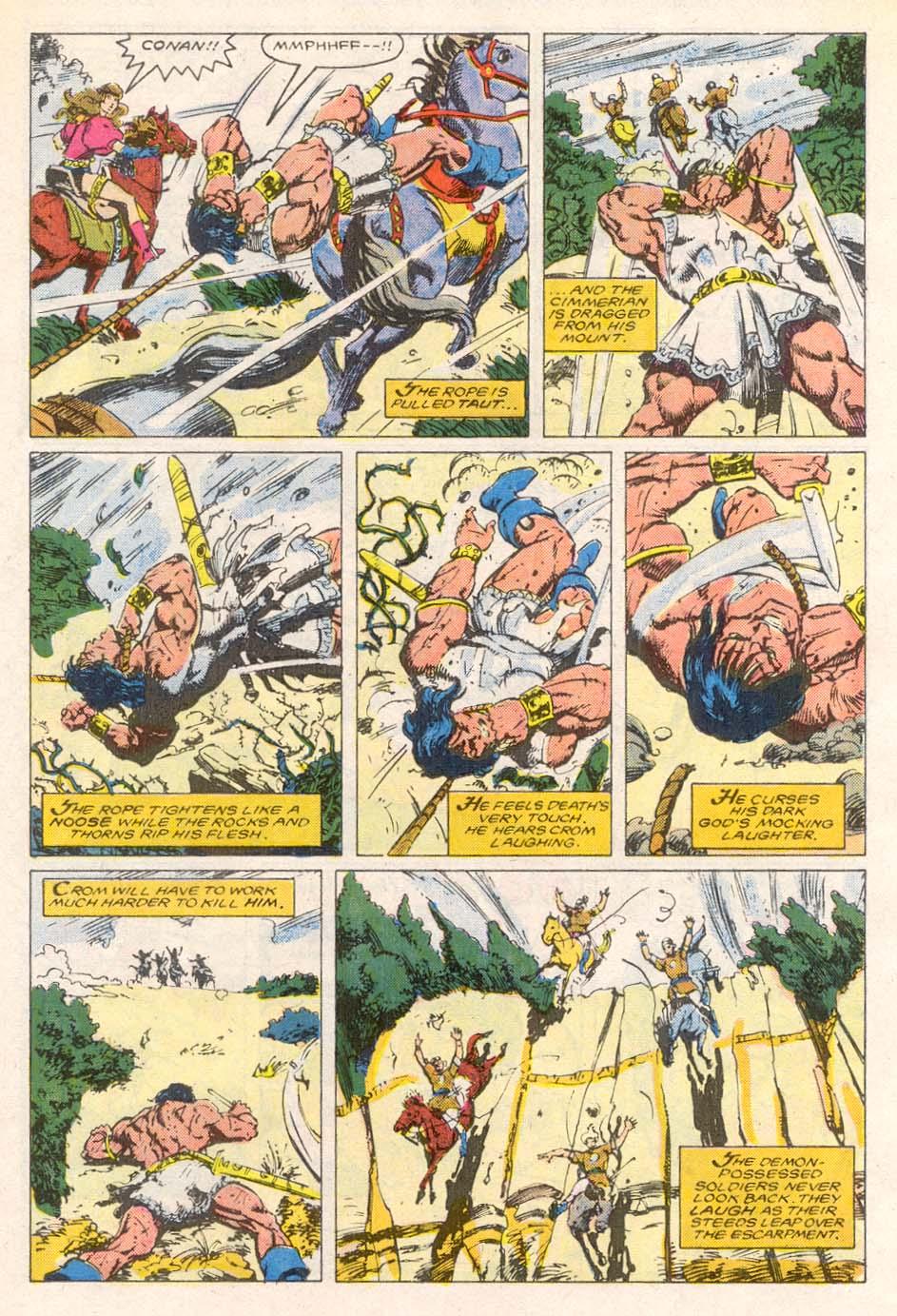 Conan the Barbarian (1970) Issue #193 #205 - English 16
