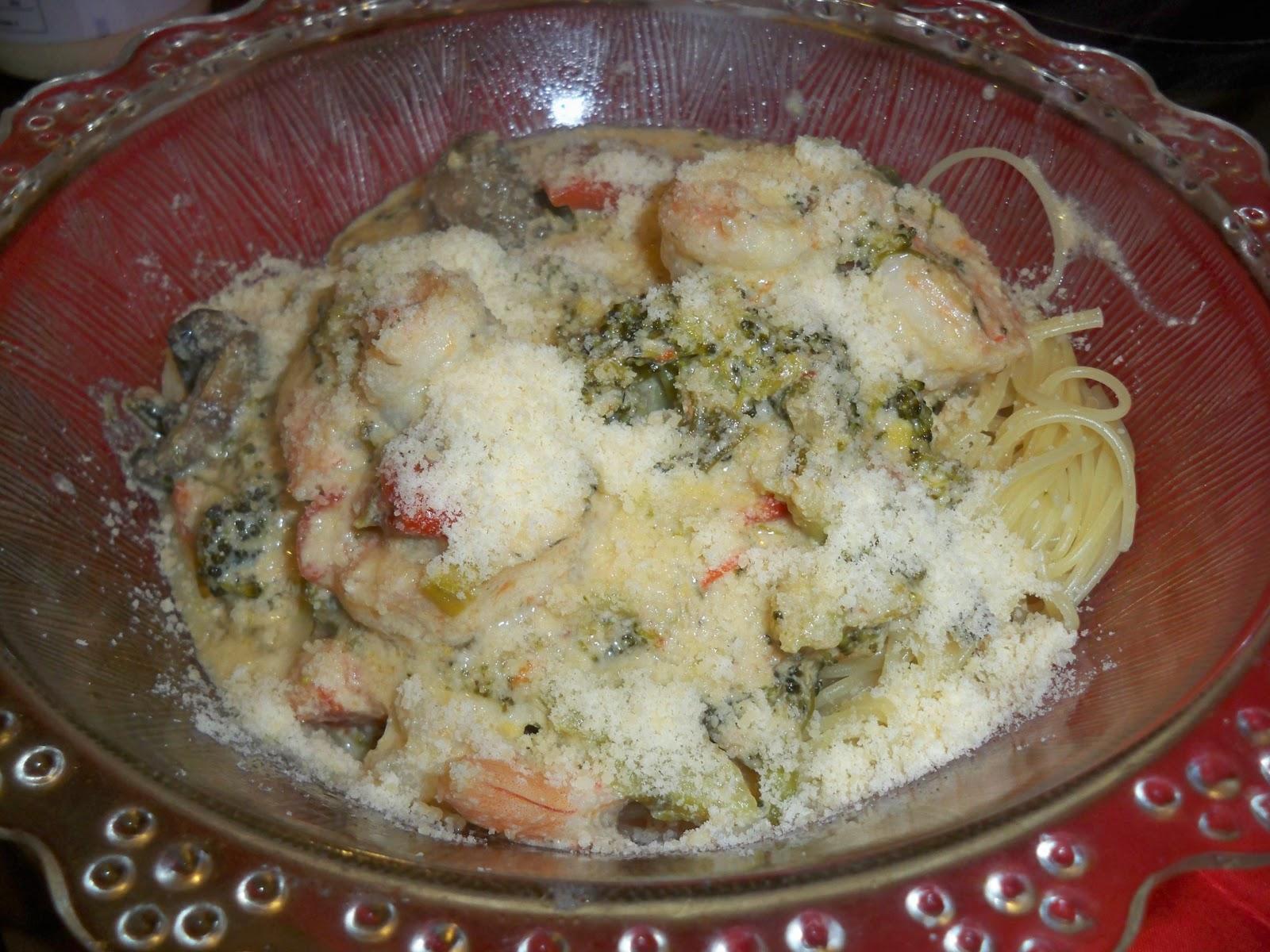 Gina 39 S Italian Kitchen Shrimp Pasta With Broccoli