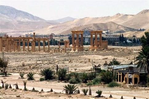 Τμήμα της αρχαίας Παλμύρας κατελήφθη από τζιχαντιστές
