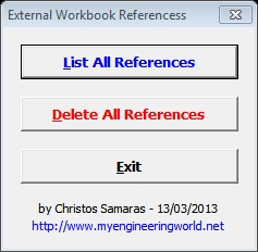External Workbook References (Add-In)