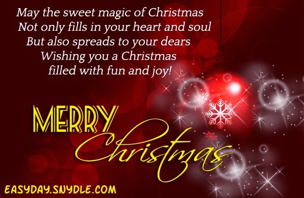 Wonderful Merry Christmas Quotes For Cards