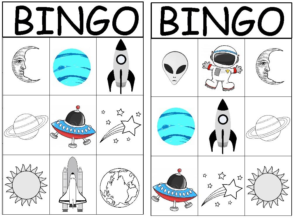 astronomy bingo - photo #1