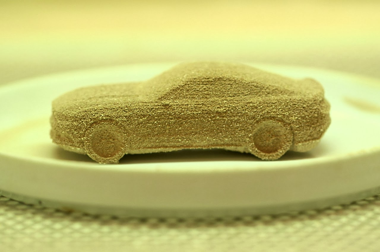 3D-printed 2015 Mustang candies