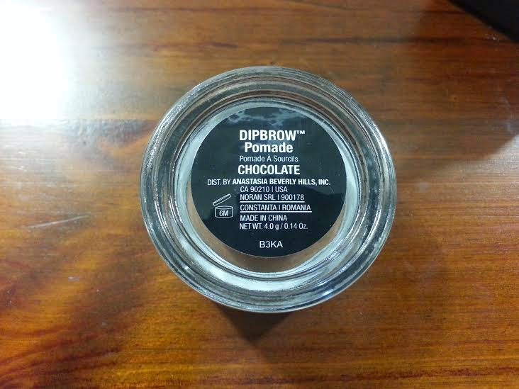anastasia beverly hills dip brow pomard chocolate pot