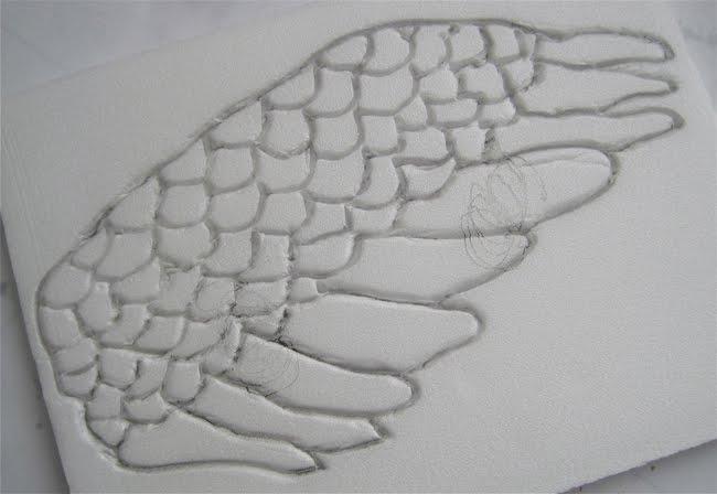 My collage art nancy lefko fun with foam