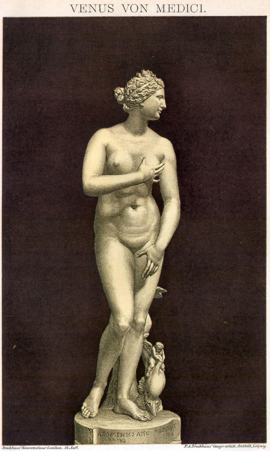 Venus de Médici (Brockhaus Enzyklopädie)