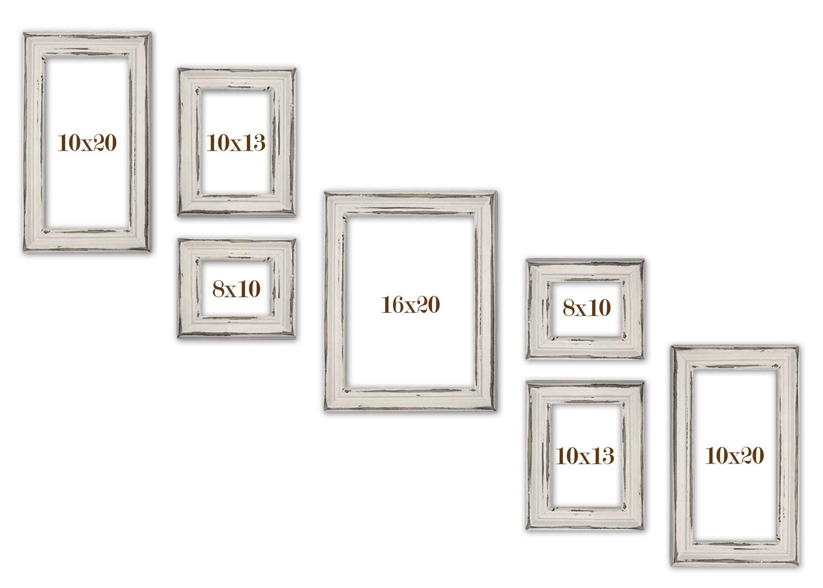 14x18 Frame Matted To 11x14.Alexandria Whitewash Photo Frame 8x8 ...