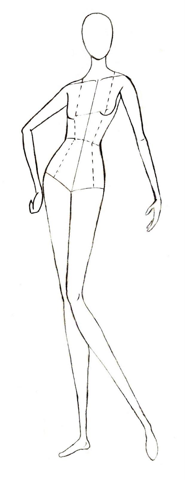 28 How To Draw Fashion Templates Fashion Sketch Templates