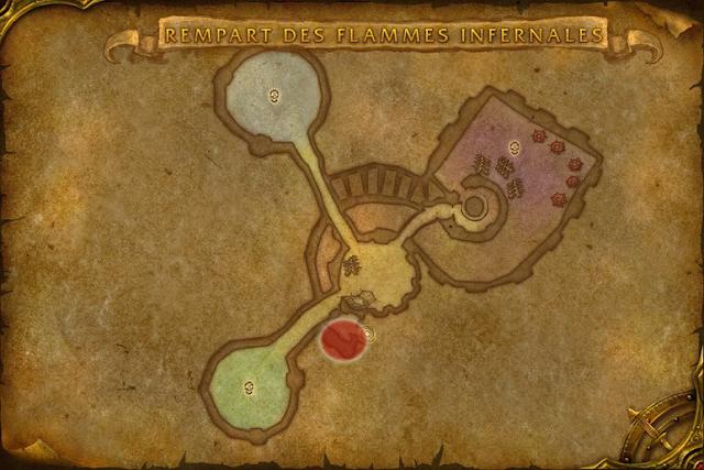 Spot farm étoffe runique rempart des flammes infernales