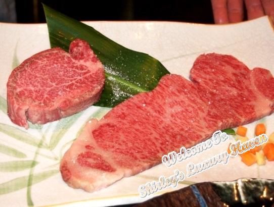 ginza hama steak house teppanyak matsusaka ushi