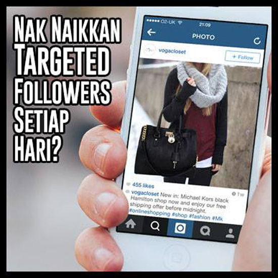 Cara Berkesan Lariskan Jualan Instagram