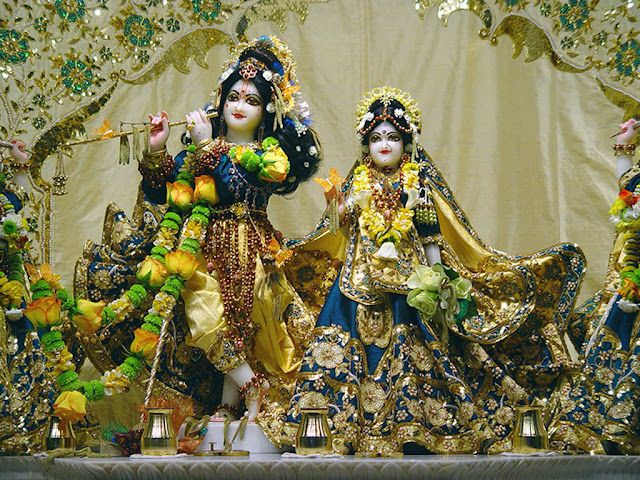 Radha Krishna Vrindavan HD Wallpapers Pictures