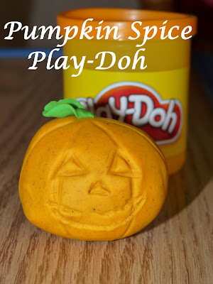 pumpkin spice Play-Doh