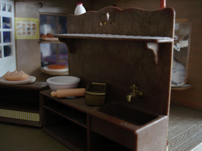 Sylvanian Families Vintage Bakery Interior Sink