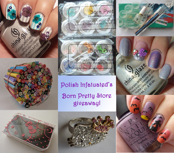 Polish Infatuated's Second Blog Anniversary's Giveaway One!