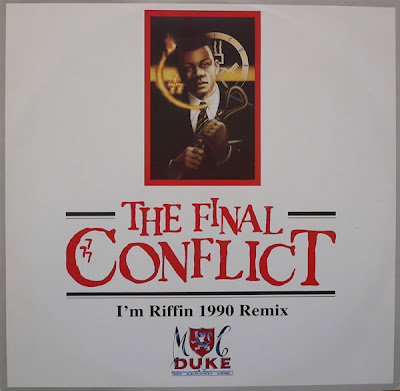 MC Duke & DJ Leader One* ‎– The Final Conflict (1990, VLS, 192)