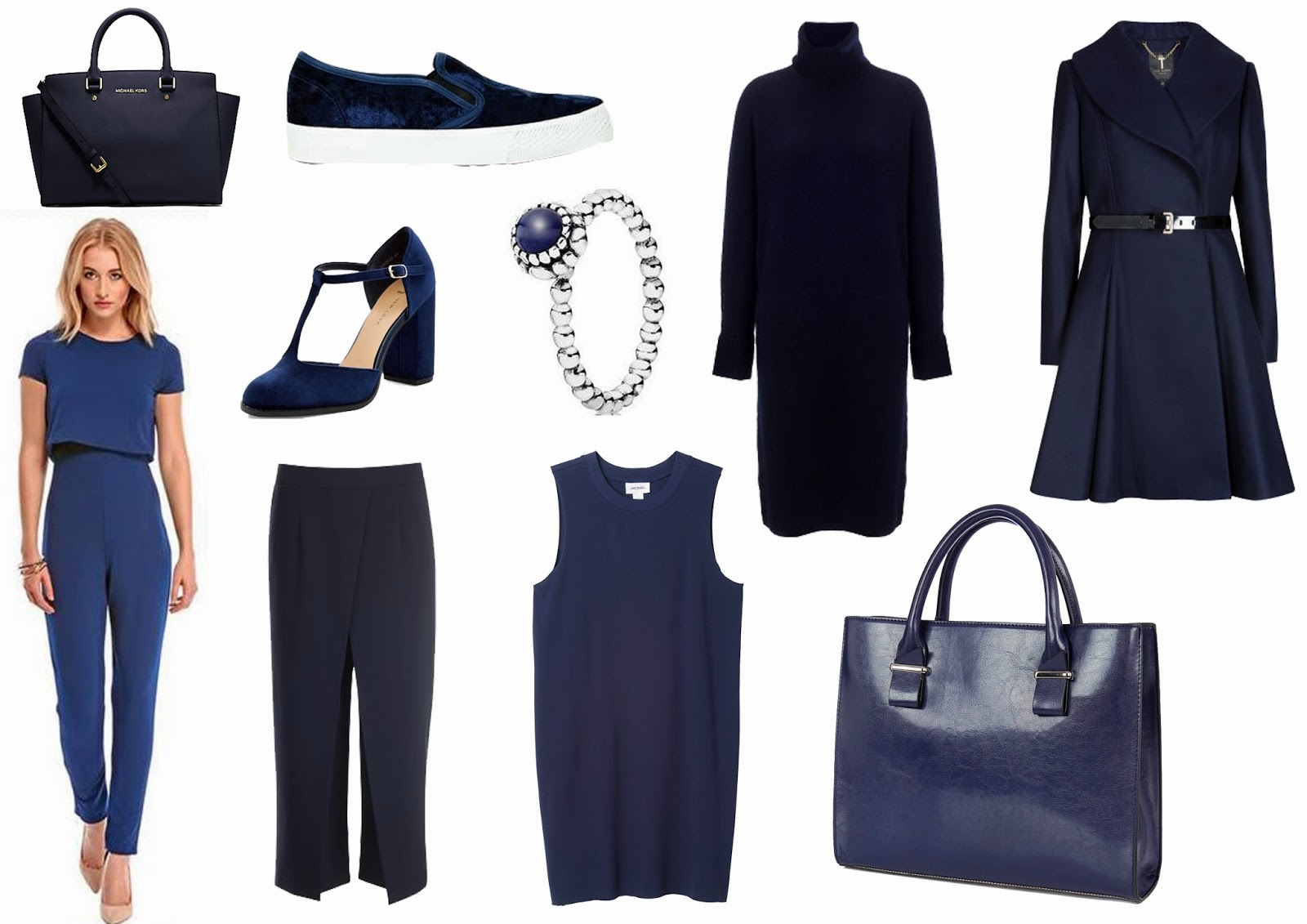 Trend Alert - Navy on laurarebeccasmith.com