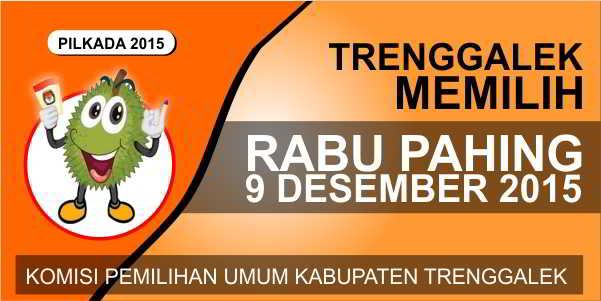 KPU Trenggalek Launching Durian Sebagai Maskot Pilkada