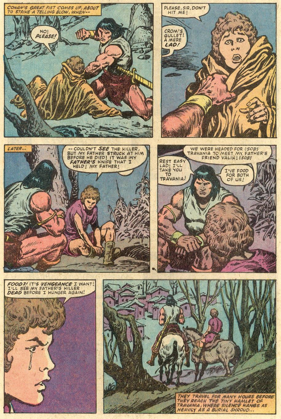 Conan the Barbarian (1970) Issue #149 #161 - English 5