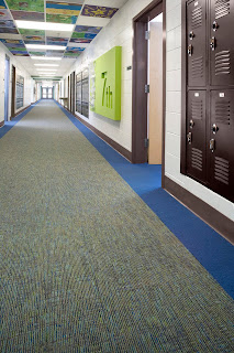 Carpet, Great Flooring Choice for Schools: Lees By The Book