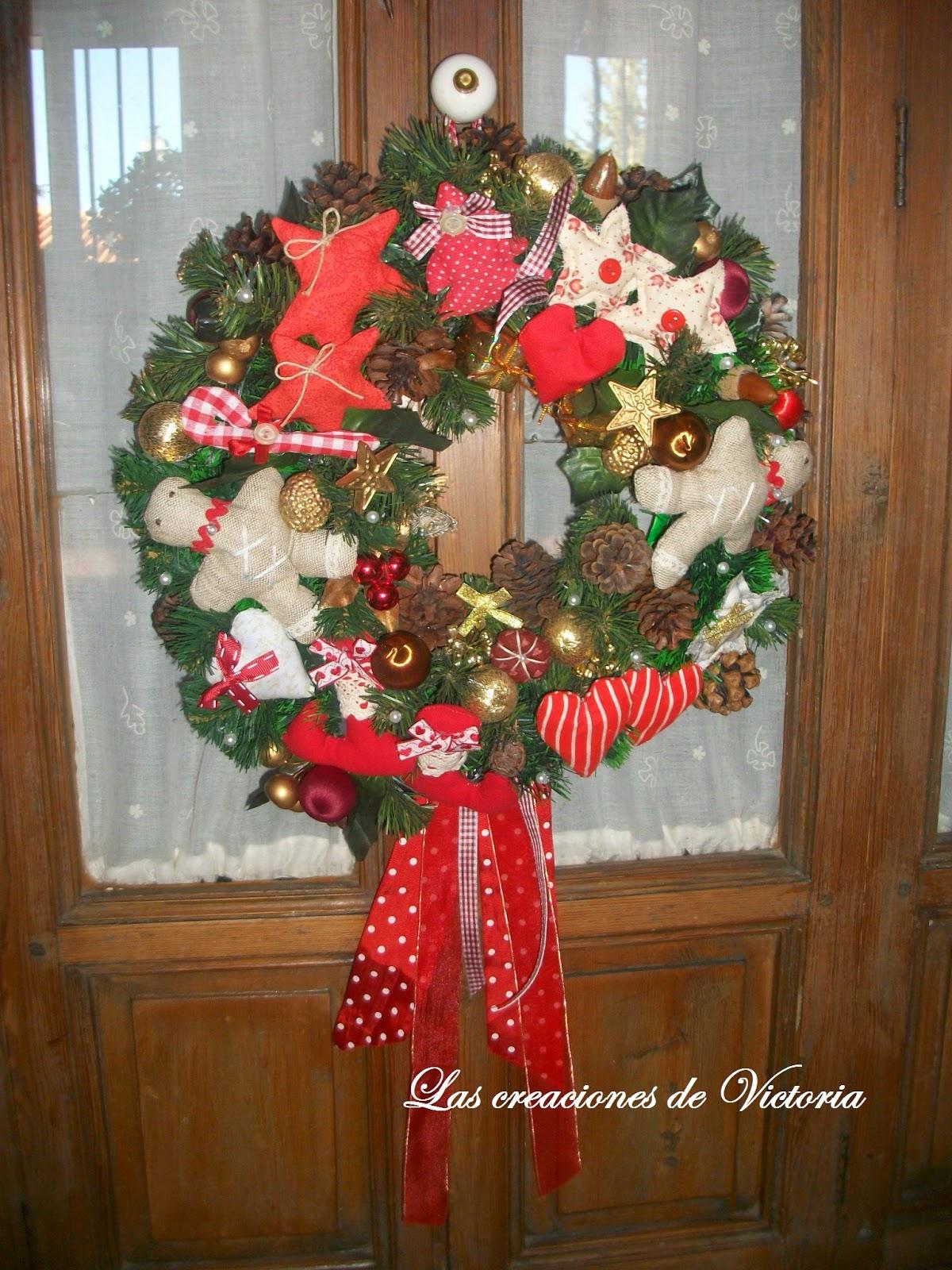 Las creaciones de Victoria. Patchwork. Adornos navideños.