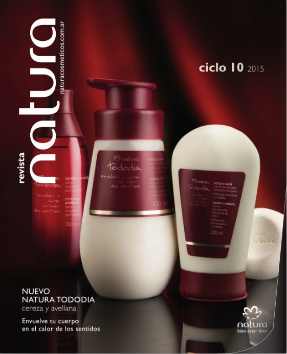 Bien estar feliz revista natura digital ciclo 10 2015 - Natura home catalogo ...