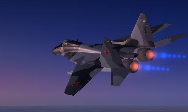 MiG-33 Fulcrum Fighter Aircraft