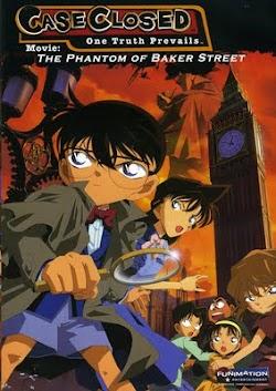 Thám Tử Lừng Danh Conan 6: Bóng Ma Trên Phố Baker - Detective Conan Movie 6: The Phantom Of Baker Street (2002) Poster