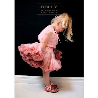 Dolly Child's Pink Pettiskirt Kidsen